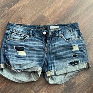 Jean shorts - barely worn